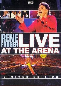 Cover Rene Froger - Live At The Arena [DVD]